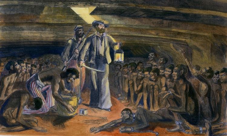Os historiadores apontam que, no período de 1820 a 1840, cerca de 700 mil escravos foram trazidos ao Brasil