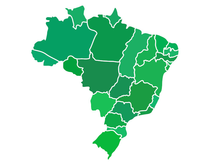 Você saberia nomear os estados brasileiros? Conhecer estados e suas diferenças socioeconômicas é fundamental para uma visão sociológica do Brasil.