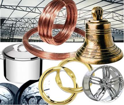 A ligação metálica é responsável pelas propriedades dos metias que os tornaram cada vez mais usados em nosso dia a dia