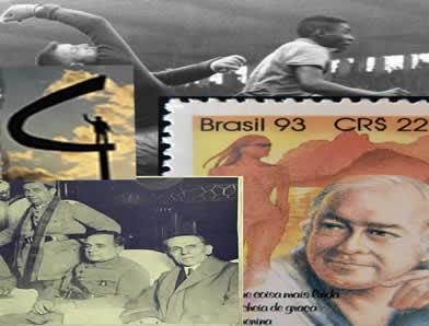 A história brasileira entre as ditaduras do Estado Novo e o Regime Militar marcou o país na política, na música e também no esporte.*