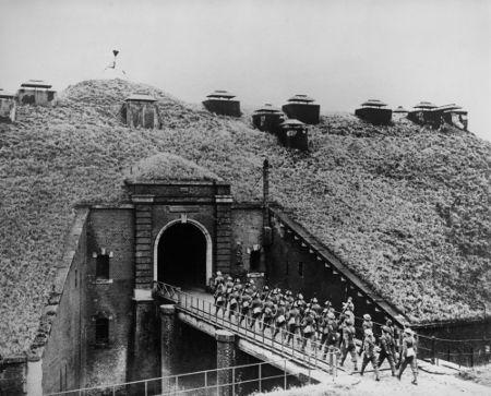 Trecho das defesas fortificadas dos franceses na chamada Linha Maginot, na fronteira com a Alemanha