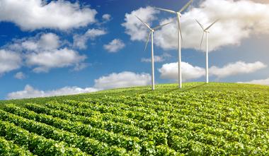 A utilização dos solos, dos ventos e da luz solar são exemplos da exploração dos recursos naturais
