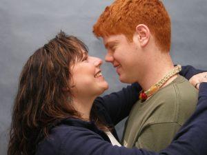 Um casal apaixonado