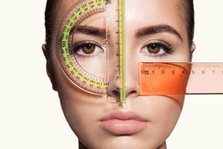 Algumas medidas do rosto são diretamente proporcionais a outras partes do corpo