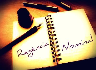 A regência nominal se caracteriza pela relação estabelecida entre o nomes e seus complementos