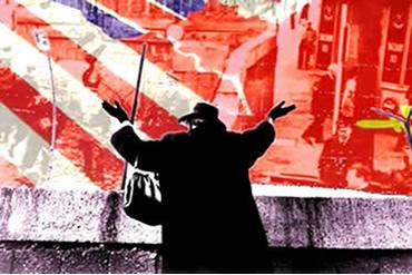 O Muro de Berlim estabeleceu a divisão ideológica e política da Alemanha.