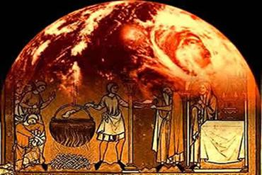 O aquecimento na Idade Média influiu em vários fatos de natureza histórica.