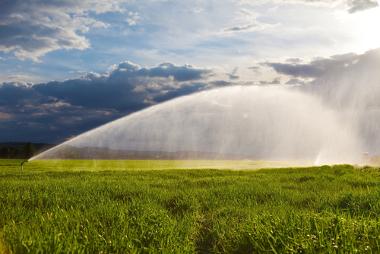 A irrigação, na agricultura, é a atividade que mais consome água