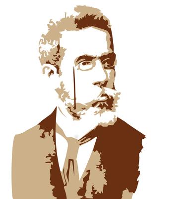 Machado de Assis nasceu no Rio de Janeiro no dia 21 de junho de 1839. Faleceu em sua cidade natal em 29 de setembro de 1908, aos 69 anos