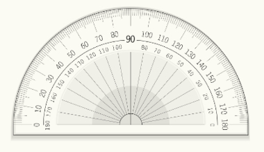 Transferidor: objeto usado para medir ângulos