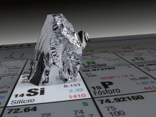 O silício é um elemento químico