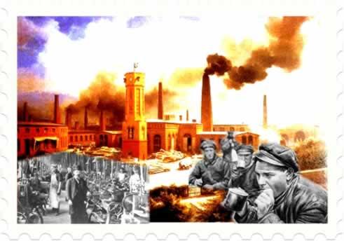 A Revolução Industrial do século XVIII proporcionou transformações sociais e urbanas na Inglaterra
