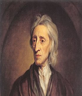 Locke, um dos principais teóricos do liberalismo