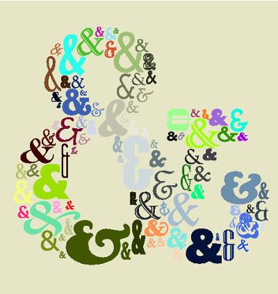 """O ampersand pode ser utilizado no lugar da conjunção aditiva """"e"""" com o mesmo valor semântico"""