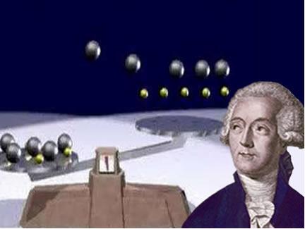 O uso da balança foi fundamental para que Lavoisier descobrisse a importância da massa da matéria