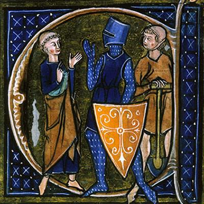 O Trovadorismo compôs a primeira época medieval