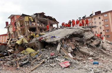O efeito dos terremotos é altamente destrutivo¹