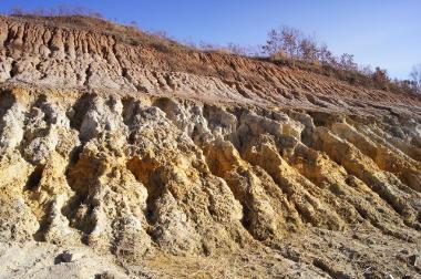 Erosão e intemperismo são dois processos de alteração do relevo