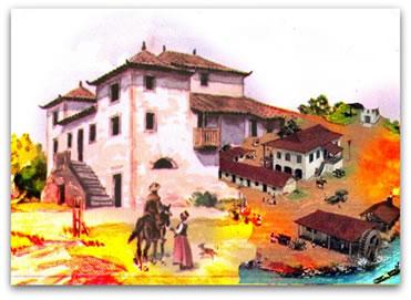 A produção do açúcar no período colonial realizou-se por meio de um processo organizado e eficiente.