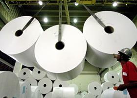 Qual o ácido usado pela indústria de papel?