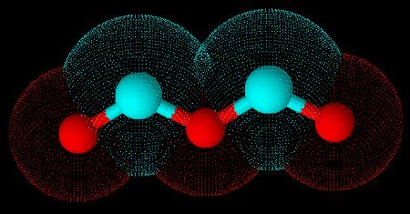 Anidrido formado pela interação entre duas moléculas do ácido metílico