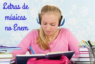 As provas de inglês do Enem, comumente, trazem questões que envolvem a interpretação de músicas