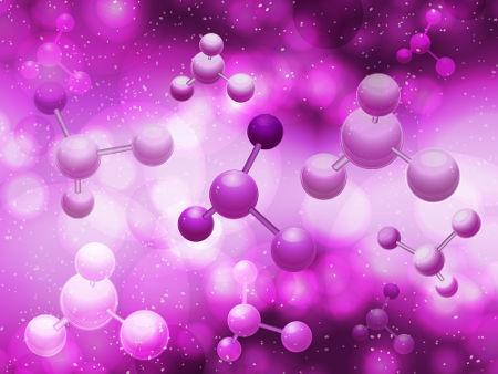 Representação das ligações químicas existentes entre os átomos nas moléculas de amônia