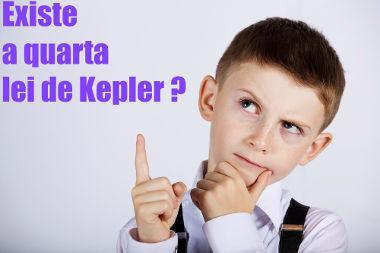 A quarta lei de Kepler não é válida na forma como foi enunciada