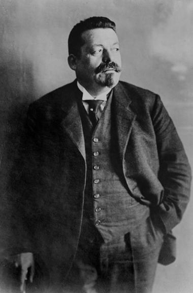 Friedrich Ebert, um dos principais líderes da República de Weimar