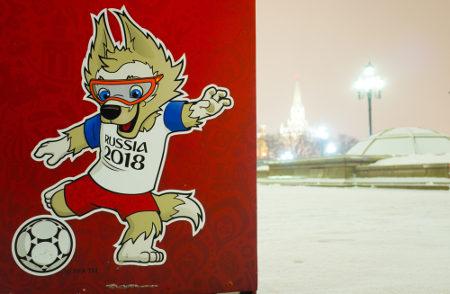 Zabivaka é o mascote oficial da Copa do Mundo da Fifa de 2018*