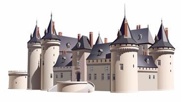 Os castelos são os símbolos da época feudal