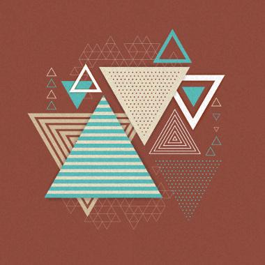 Figuras geométricas que possuem três lados e três ângulos: triângulos