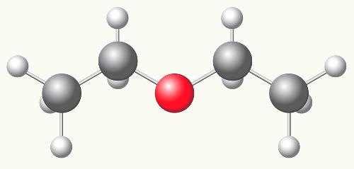 O etoxietan é conhecido usualmente  como dietiléter ou éter dietílico
