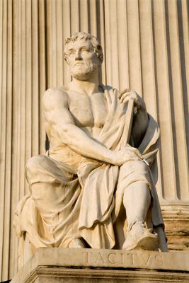 O historiador romano Públio Cornélio Tácito foi um dos mais importantes conhecedores dos povos germânicos