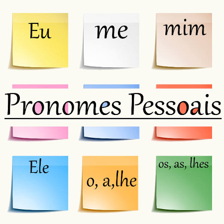 Os pronomes pessoais fazem referência direta às pessoas do discurso