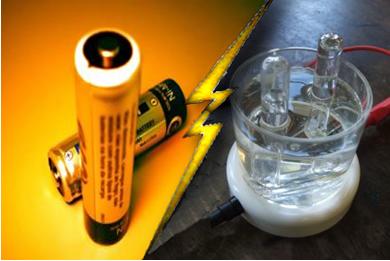 O funcionamento das pilhas e o processo da eletrólise são estudados na Eletroquímica