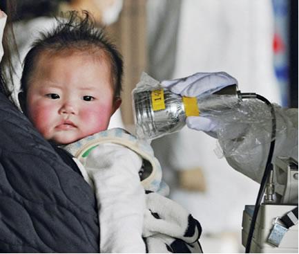 Os efeitos biológicos causados pela radiação são mais agressivos em crianças