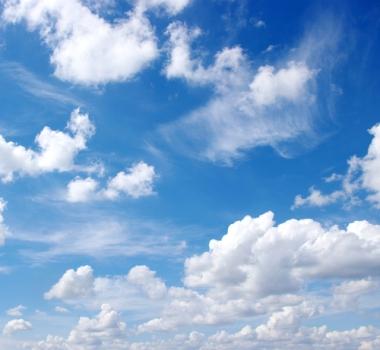 As nuvens são formadas pelo processo de condensação da umidade do ar