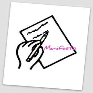 O manifesto se define como o posicionamento de uma pessoa ou de um grupo de pessoas acerca de um determinado assunto