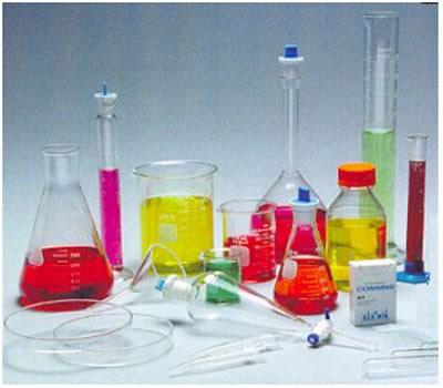 Materias de um laboratorio de quimica