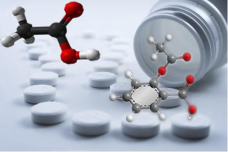 Uma das aplicações do anidrido acético acontece na produção do ácido acetilsalicílico, que é usado como antitérmico