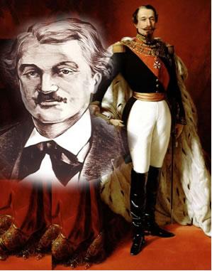 Quando o imperador Napoleão III (na foto colorida) propôs uma recompensa para quem descobrisse um alimento parecido com a manteiga, o químico Hippolyt