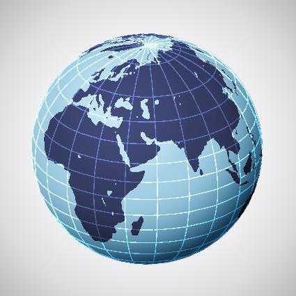 """Os paralelos e meridianos """"fatiam"""" a Terra em várias partes"""