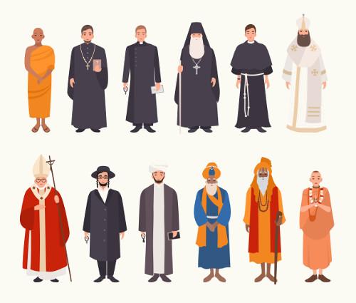 Aquele que segue uma religião é um crente (aquele que crê), portanto, é uma pessoa dotada de fé*