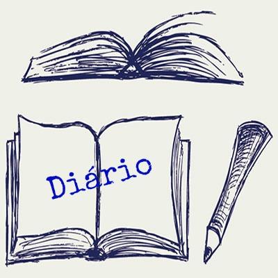 O diário se caracteriza como um gênero textual