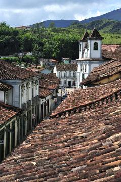 O município de Mariana foi o mais afetado pelo rompimento da barragem da Samarco *