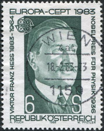 Os raios cósmicos foram descobertos pelo ganhador do Nobel de Física, Victor Franz Hess*