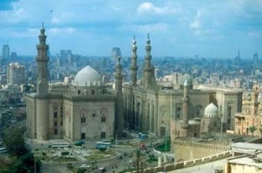 Cairo no Egito é a maior cidade africana.