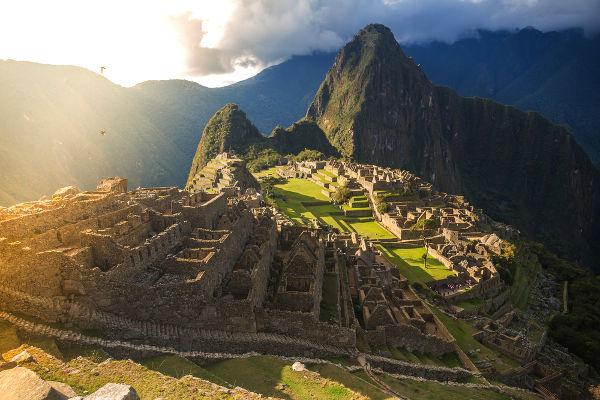 A cidade inca de Machu Picchu foi descoberta em 1911 e é um dos sítios incas conhecidos mais bem preservados.