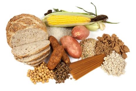 O amido está presente em cereais e raízes de vegetais